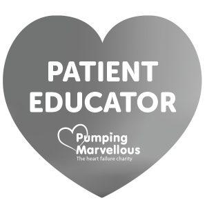 Pumping Marvellous Patient Educator Badge Platinum