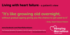 Patient quote -HF is like growing old