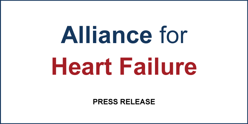 Alliance for Heart Failure Press Release