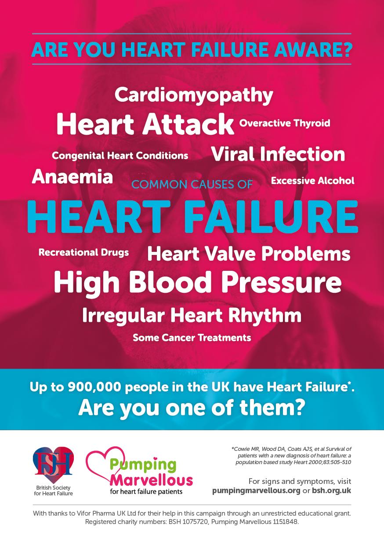 Heart Failure Awareness Day Poster 2017