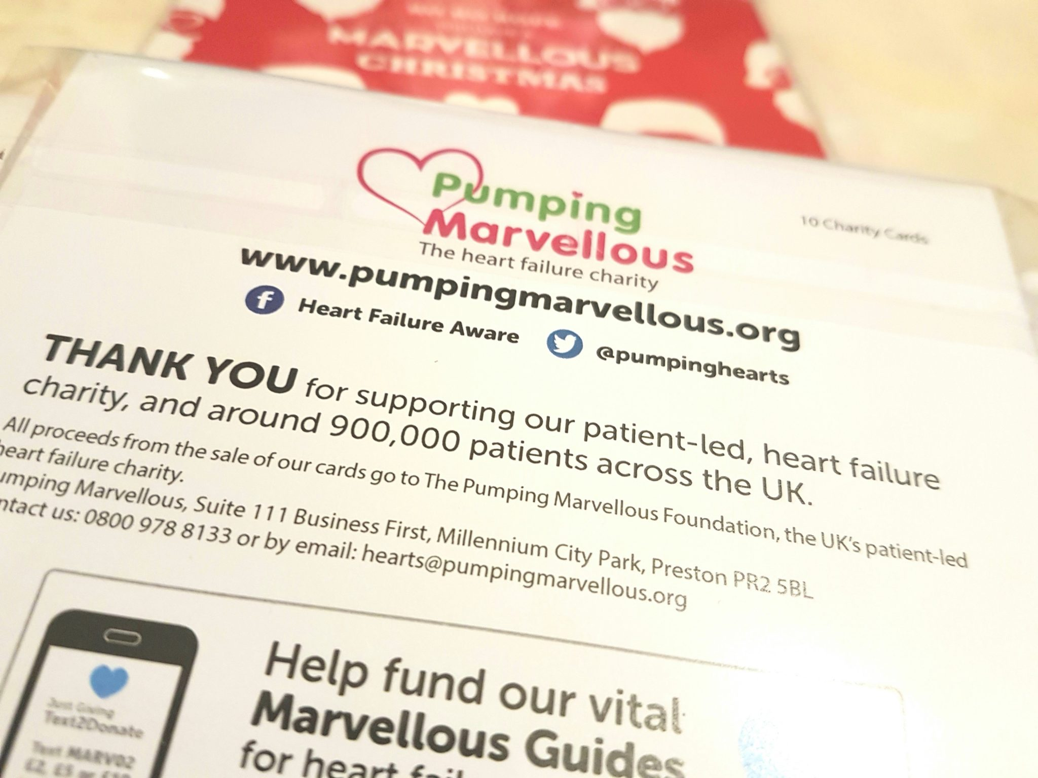 Pumping Marvellous Charity Christmas Cards | Heart Failure - Pumping ...
