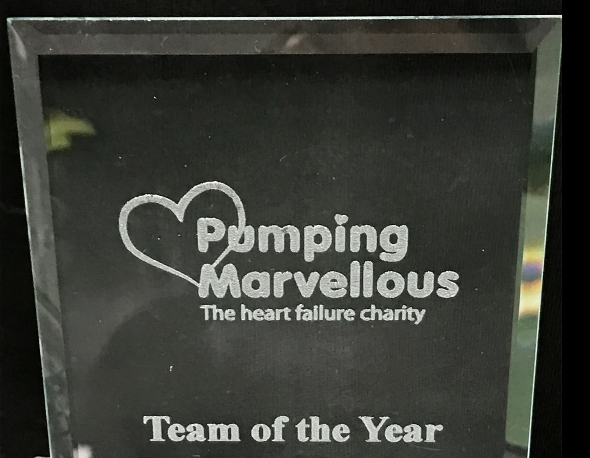 Marvellous Awards 2018 - Heart Failure specialists recognised