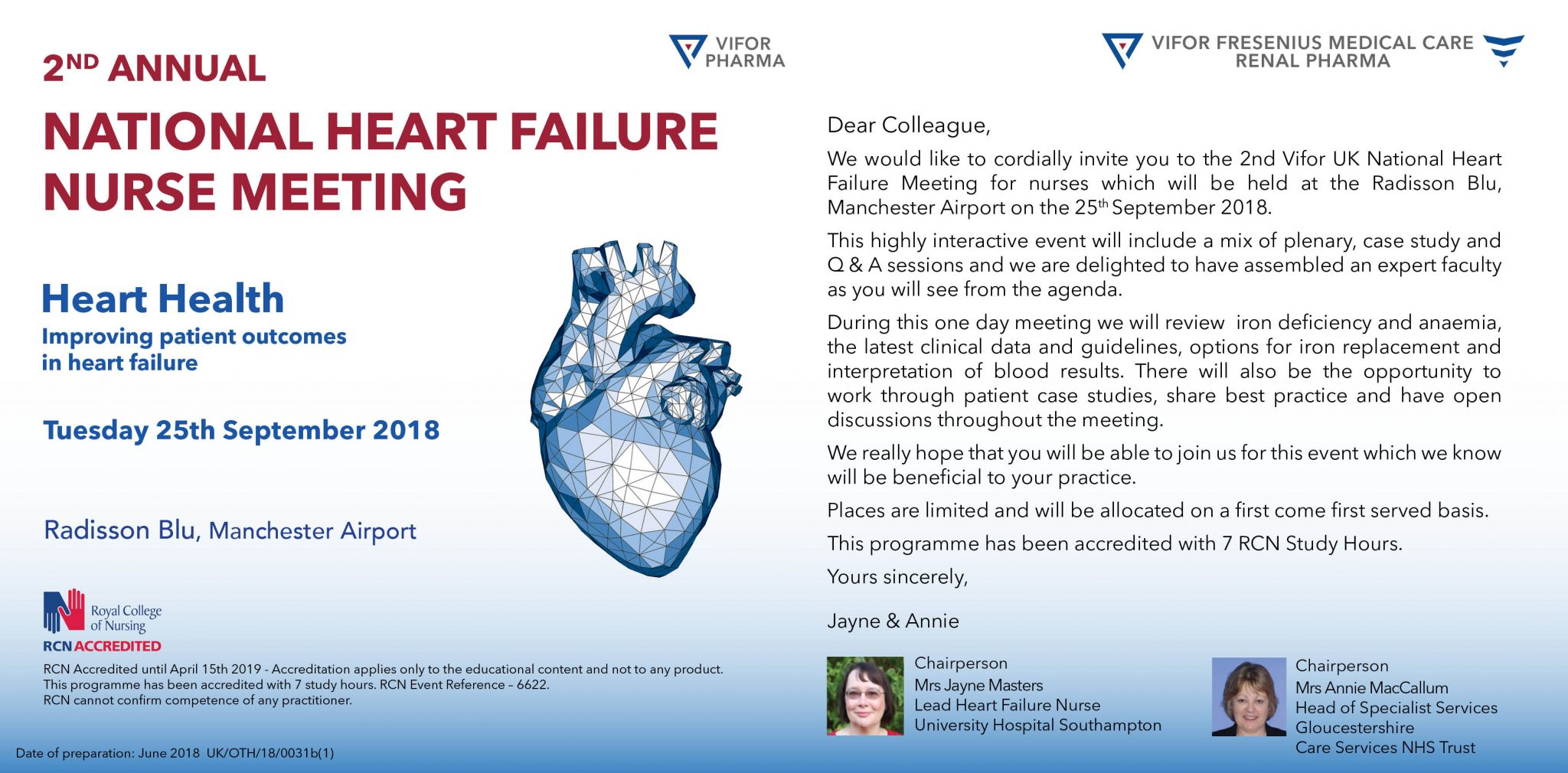 national heart failure nurse meeting