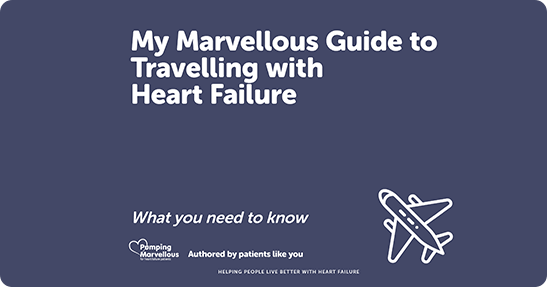 Travel with heart failure and holiday insurance